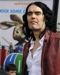 """<p>Cast member Russell Brand attends the premiere of the film """"Hop"""" in Los Angeles March 27, 2011. REUTERS/Phil McCarten</p>"""
