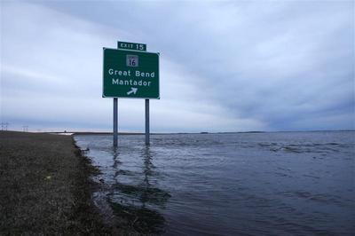 Flood siege in North Dakota