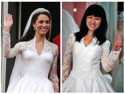 Counterfeit Kate dress