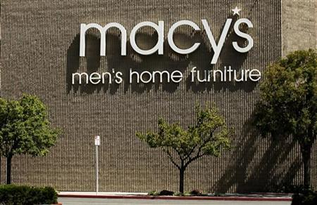 A Macy's department store is shown in Oceanside California May 11, 2011. Macy's will report first quarter earning May 11. REUTERS/Mike Blake