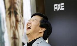 "<p>Cast member Ken Jeong laughs at the premiere of ""The Hangover Part II"" at Grauman's Chinese theatre in Hollywood, California May 19, 2011. The movie opens in the U.S. on May 26. REUTERS/Mario Anzuoni</p>"