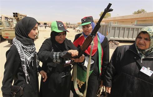 Libya's fighting women