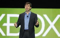 Don A. Mattrick, presidente da Unidade de Entretenimento Interativo da Microsoft, fala em coletiva de imprensa na feira E3, em Los Angeles, Califórnia.  06/06/2011 REUTERS/Fred Prouser
