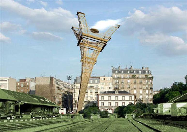 Paris to become a laboratory for urban design reuters for Landmark design