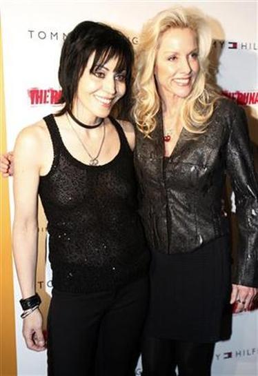 Joan Jett, Cherie Currie sue over Runaways tribute album