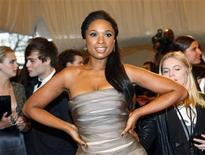 "<p>Singer Jennifer Hudson poses on the red carpet at the Metropolitan Museum of Art Costume Institute Benefit celebrating the opening of the exhibition ""Alexander McQueen: Savage Beauty"" in New York May 2, 2011. REUTERS/Eric Thayer</p>"