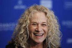 A cantora Carole King em festival de cinema em Utah, Estados Unidos, janeiro de 2011. Carole fechou um contrato para escrever um livro sobre sua vida. 22/01/2011 REUTERS/Lucas Jackson