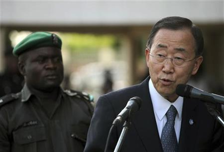 U.N. chief urges end to fighting in Sudan border state