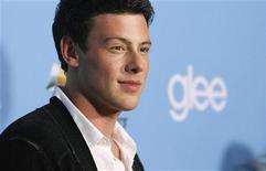 """Cory Monteith na estreia da segunda temporada da série """"Glee"""", em Los Angeles, em 2010.  O ator teve tantos problemas com drogas na adolescência que seus amigos chegaram a temer por sua vida. 07/09/2010  REUTERS/Mario Anzuoni"""