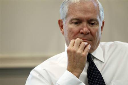U.S. Defense Secretary Robert Gates is seen during his interview with Reuters correspondents, his final interview as Defense Secretary, at the Pentagon near Washington, June 29, 2011. REUTERS/Jason Reed