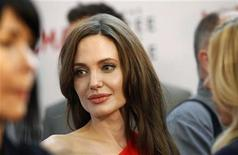 "<p>Actress Angelina Jolie attends the premiere of ""The Tree of Life"" at LACMA in Los Angeles May 24, 2011. The movie opens limitedly in the U.S. on May 27. REUTERS/Mario Anzuoni</p>"