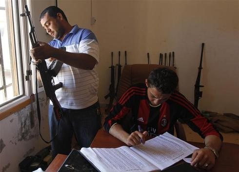 Inside Libya's rebel army
