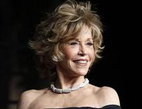 <p>Actress Jane Fonda arrives at the 2011 Vanity Fair Oscar party in West Hollywood, California February 27, 2011. REUTERS/Danny Moloshok</p>