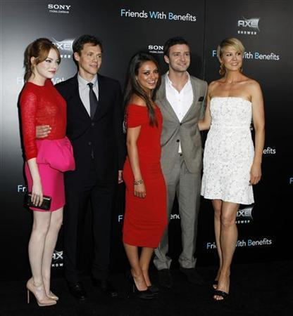 Friends Kunis, Timberlake have fun getting naked | Reuters com