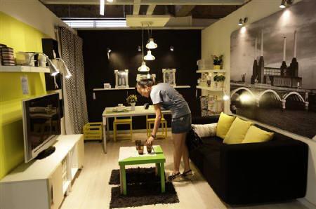 8月1日、中国雲南省の昆明市にスウェーデンの家具大手「IKEA(イケア)」のコンセプトをそのまま真似した家具店が登場。先月撮影(2011年 ロイター/Jason Lee)