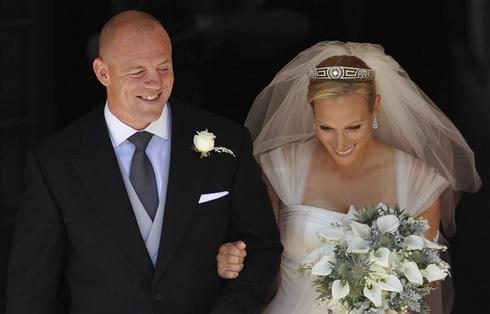 Zara Phillips weds