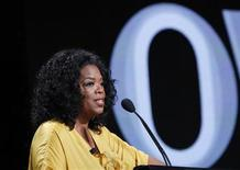 <p>Oprah Winfrey, Chairman, CEO, and Chief Creative Officer of OWN: Oprah Winfrey Network, speaks during the OWN session at the 2011 Summer Television Critics Association Cable Press Tour in Beverly Hills, California July 29, 2011. REUTERS/Mario Anzuoni</p>