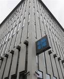 Штаб-квартира ОПЕК в Вене, 8 июня 2011 года. Организация стран-экспортеров нефти (ОПЕК) сократила прогноз роста спроса на нефть в 2011 году из-за ухудшения макроэкономических условий, негативно сказывающихся на увеличении потребления нефти развитыми странами. REUTERS/Heinz-Peter Bader