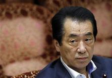 Japan's Prime Minister Naoto Kan attends a budget committee meeting in the upper house of parliament in Tokyo July 7, 2011.  REUTERS/Yuriko Nakao