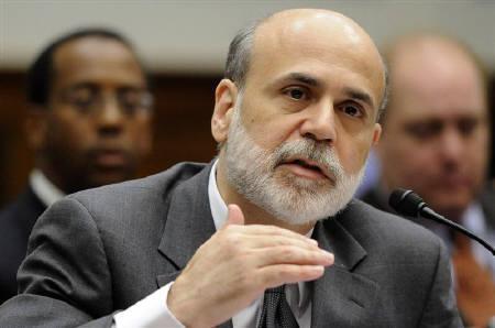 U.S. Federal Reserve Chairman Ben Bernanke is seen in Washington June 25, 2009. REUTERS/Jonathan Ernst/Files