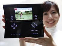 Tablet Sony P é exposto em evento promocional da empresa em Tóquio, Japão. 01/09/2011 REUTERS/Toru Hanai