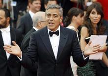 George Clooney no Festival de Veneza, na quarta-feira. O festival de cinema de Veneza cumpriu o prometido até agora, apresentando um fluxo constante de atores de primeira linha no tapete vermelho e uma série de filmes que vem agradando a maior parte dos críticos. 31/08/2011          REUTERS/Alessandro Garofalo