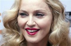 """Madonna, diretora do filme """"W.E."""", no Festival de Cinema de Toronto. Madonna disse nesta segunda-feira que não se importa com as críticas cinematográficas, desde que o alvo seja o filme que ela fez, e não a própria estrela internacional. 12/09/2011  REUTERS/Mark Blinch"""