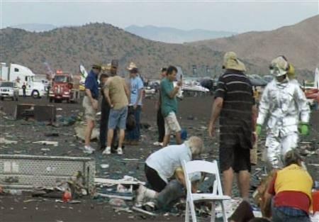 米航空レースで小型機墜落、パイロットら2人死亡・15人重体 | jp