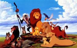 """Кадр из мультфильма """"Король Лев"""" студии Walt Disney, 11 июня 1994 года. Мультфильм """"Король Лев"""", впервые вышедший на экраны 17 лет назад, смог возглавить североамериканский кинопрокат в минувший уикенд. REUTERS/STR New"""