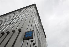 Штаб-квартира Организации стран-экспортеров нефти (ОПЕК) в Вене, 8 июня 2011 года. Организация стран-экспортеров нефти (ОПЕК) признала Национальный переходный совет Ливии (NTC) представителем страны, сказал в понедельник генеральный секретарь ОПЕК Абдулла аль-Бадри. REUTERS/Heinz-Peter Bader