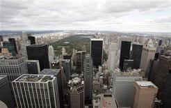 <p>A north view of New York City and Central Park from the observation deck at Rockefeller Center in a file photo. REUTERS/Seth Wenig</p>