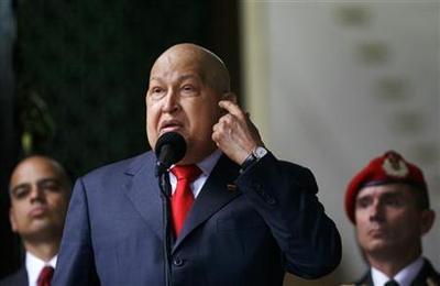 Re-energized Chavez floods Venezuela's airwaves