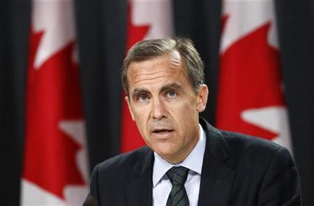 Bank of Canada Governor Mark Carney speaks during a news conference upon the release of the Monetary Policy Report in Ottawa July 20, 2011. REUTERS/Chris Wattie