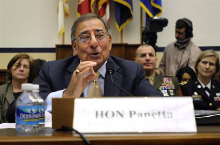 U.S. Defense Secretary Leon Panetta testifies before the House Armed Services Committee on Capitol Hill in Washington, October 13, 2011.  REUTERS/Jonathan Ernst