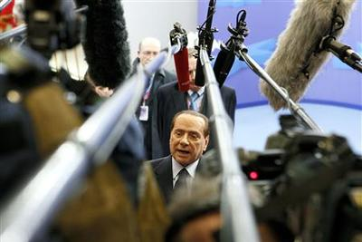 Berlusconi to call Monday cabinet meeting on growth