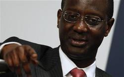 <p>Prudential Group Chief Executive Tidjane Thiam speaks during an Asian investment forum in Hong Kong March 24, 2011. REUTERS/Bobby Yip</p>