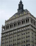 Логотип Kodak на здании офиса компании в Рочестере (Нью-Йорк), 3 октября 2011 года. Убыток Eastman Kodak в третьем квартале оказался намного хуже прогнозов, а объем наличных средств сократился по сравнению с прошлым кварталом из-за роста материальных издержек. REUTERS/Clare Baldwin