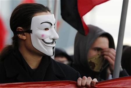 England S Guy Fawkes Unlikely Face Of Global Protest Reuters Com