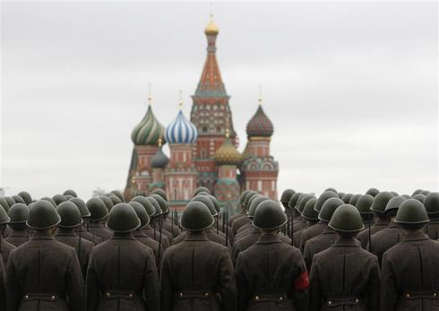 Revolution Day in Moscow