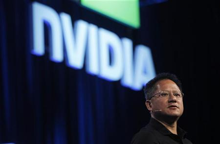 NVIDIA President and CEO Jen-Hsun Huang speaks during his keynote address at the GPU Technology Conference in San Jose, California September 21, 2010. REUTERS/Robert Galbraith