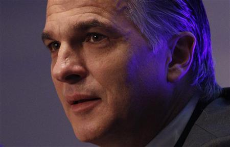 Swiss bank UBS CEO Sergio Ermotti attends a news conference in Zurich, November 15, 2011.  REUTERS/Christian Hartmann