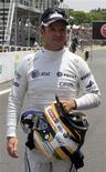 Piloto da Williams Rubens Barrichello no circuito de Interlagos, em São Paulo. 26/11/2011 REUTERS/Nacho Doce