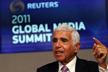 Mel Karmazin, Chief Executive Officer of Sirius XM Radio speaks at the Reuters Global Media Summit in New York, November 29, 2011.  REUTERS/Mike Segar