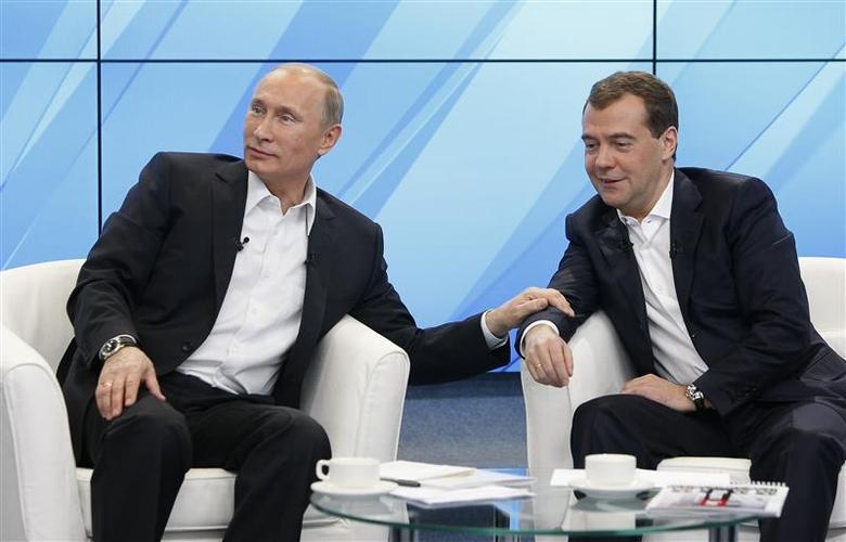 Putin Medvedev Reuters Com