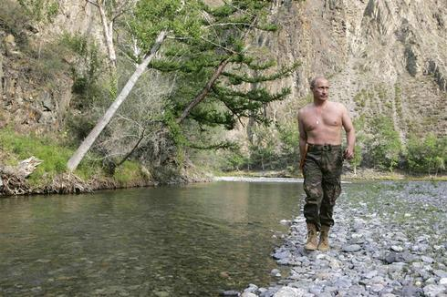 Putin's macho image