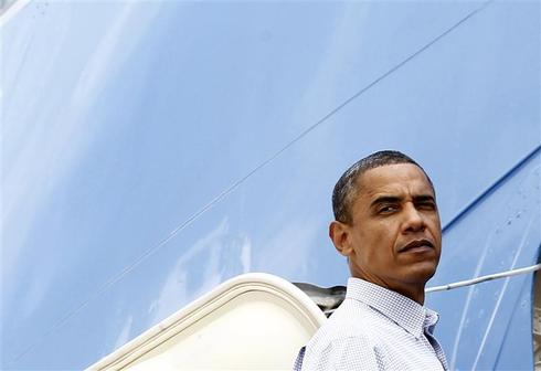 Obama going grey?