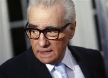 """Diretor Martin Scorsese participa da estreia de """"Hugo"""", em Nova York. Scorsese, do filme """"Touro Indomável"""", receberá o prêmio máximo da Academia Britânica de Artes Cinematográficas e Televisivas (Bafta) na cerimônia anual da organização, em 12 de fevereiro. 21/11/2011  REUTERS/Eric Thayer"""