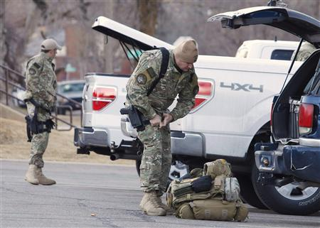 Police Suspect Army Vet In Shooting Of Six Officers Reuters - Us-military-vet