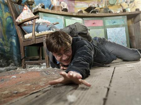 Daniel Radcliffe as Harry Potter.   REUTERS/Jaap Buitendijk/Warner Bros. Pictures