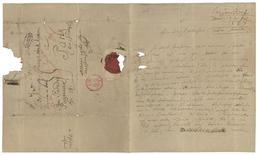 Imagem mostra rara carta de Beethoven de 1823, no Instituto Brahms, na cidade de Luebeck, Alemanha, em 20 de dezembro de 2011. 30/12/2011 REUTERS/Mathias Broesicke/Dematon Luebeck